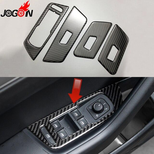 4pcs Lhd For Volkswagen Vw Passat B8 2016 2017 Carbon