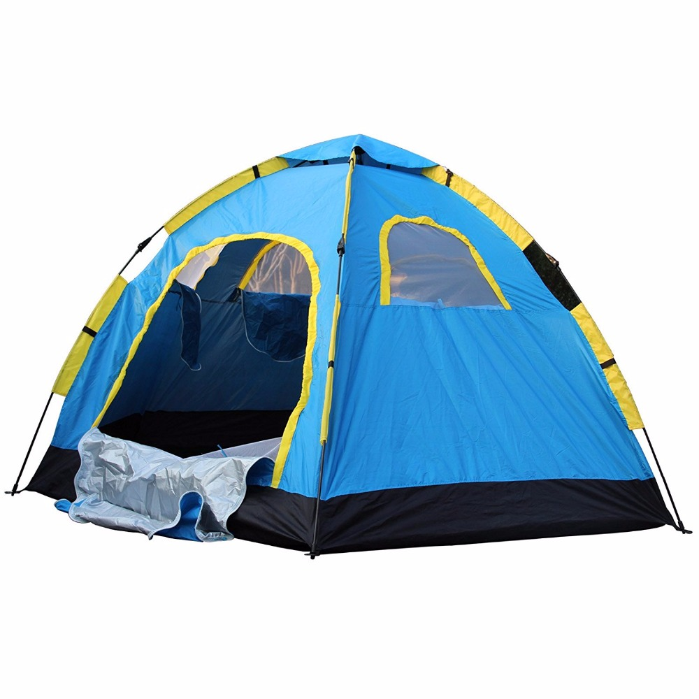 8 Person Instant Tent : Poray instant pop up tent person outdoor camping