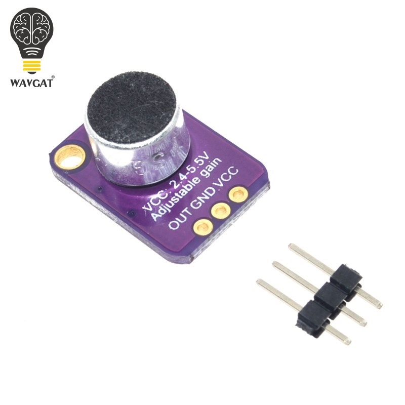 GY MAX4466 Electret Microphone Amplifier Module MAX4466 Adjustable Gain For Arduino|Home Automation Modules|   - AliExpress