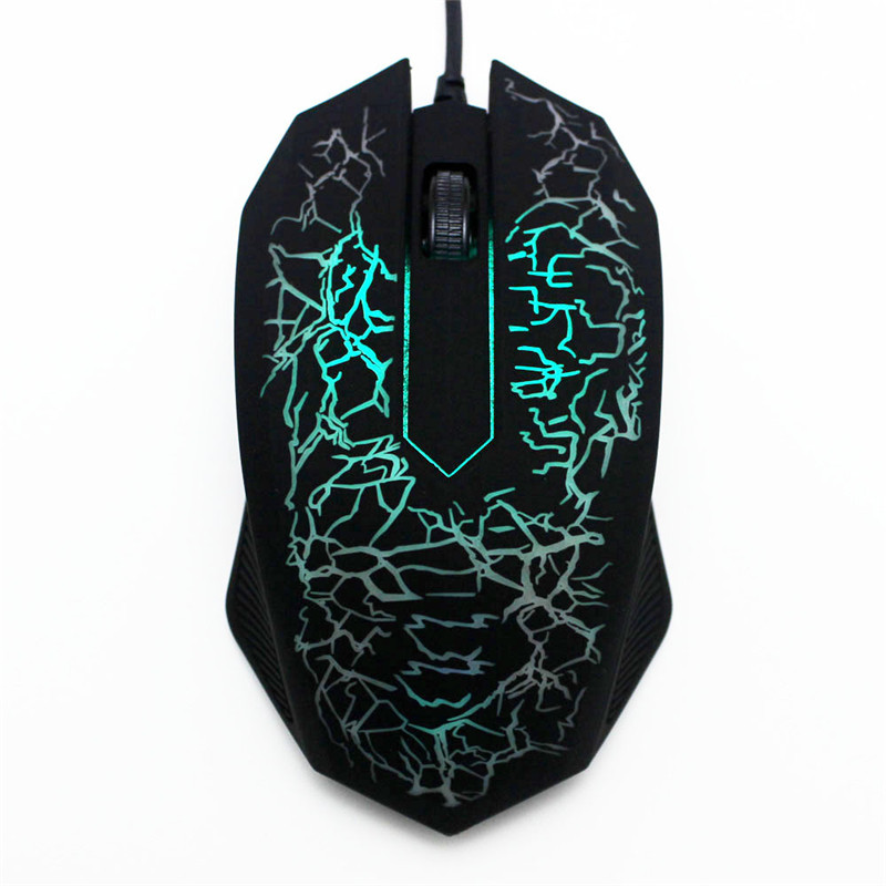 3000 DPI LED Optical Wired Gaming Mouse Professional Computer Mouse Gamer Mice For PC Notebook Laptop
