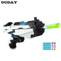 OCDAY Manual Shooting Toy Guns Cyber Hunter Soft Bullet Guns Toys For Children Wholesale Outdoor EVA