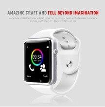 Freies Verschiffen A1 Armbanduhr Bluetooth Smart Uhr Sport Pedometer mit sim Kamera Smartwatch für Android Smartphone freies shippin