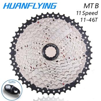 Mountain Bike Parts   Sunshine Mtb Bike Freewheel 11s 11-46t Flywheel Mountain Bicycle Flywheel 11 Speed Cassette Sprocket For Shimano M8000 Parts