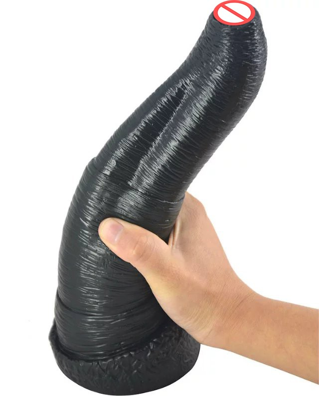 large black big dildo animal penis elephant dildo artificial penis male female anal plug woman couples masturbation sex toys 11