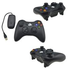 Untuk Xbox 360 2.4G Wireless Remote Controller Komputer Dengan PC Receiver Wireless Gamepad Untuk Xbox360 Joystick Controle Controller