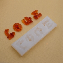 Silicone Mold letter LOVE Resin Mould handmade DIY Jewelry Making epoxy resin molds