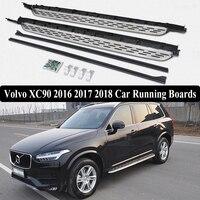 Jioyng для Volvo XC90 2016 2017 2018 автомобилей Бег Панели краски Авто шаг в сторону Бар Педали для автомобиля Фирменная Новинка Nerf бары