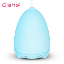 GIAHOL Ultrasonic Air Aromatherapy Machine 7 Color LED Lights Electric Humidifiers household humidification Aroma Diffuser