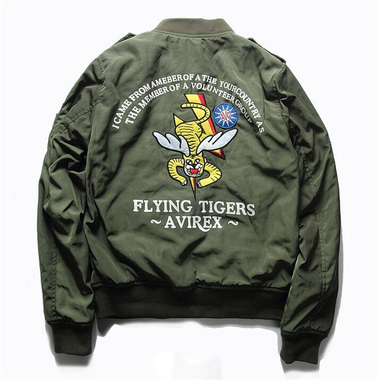 Aliexpress.com : Buy Hot Sale Mens Spring MA1 Pilot Bomber Jacket ...