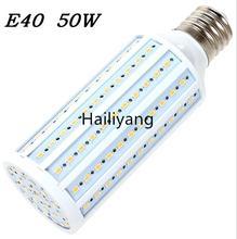 50W LED bulb E40 E27 LED Light 5730 SMD 165 LED Corn Lamp High brightness AC110V/220V Maize Lamp Home Indoor Outdoor lighting