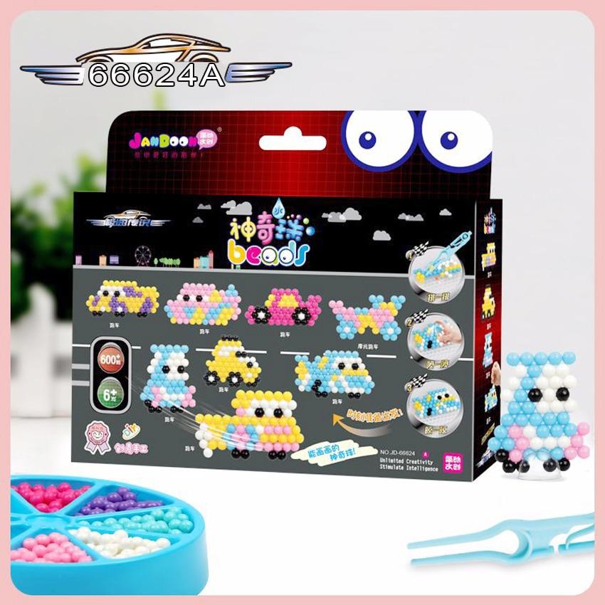 DOLLRYGA Water Beads Set Education Spray Bead 66624A Quality Guarantee Juguetes Beads DIY Toys Aqua Perlen Magic Bead Girl Gifts