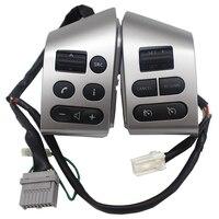 Accessori Per auto Controllo del Volante Bottoni Con Retroilluminazione Argento Bottoni Per Nissan Livina Tiida Sylphy Volanti e mozzi volante    -