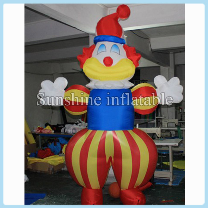 Customized outdoor 20ft giant inflatable clown for event party decorationCustomized outdoor 20ft giant inflatable clown for event party decoration