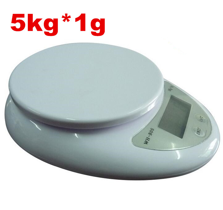 5kg 5000g 1g electronic weight balance digital kitchen food scales food diet postal scale oval