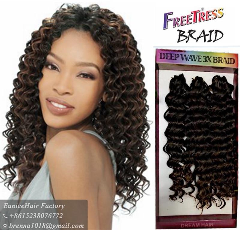Synthetic Braiding Hair Deep Wave Twist Crochet Braids Freetress Nubian Jerry Curly Extensions On Aliexpress Alibaba