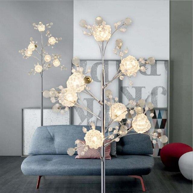 Online Shop Camera da letto creativa rami di albero di cristallo ...