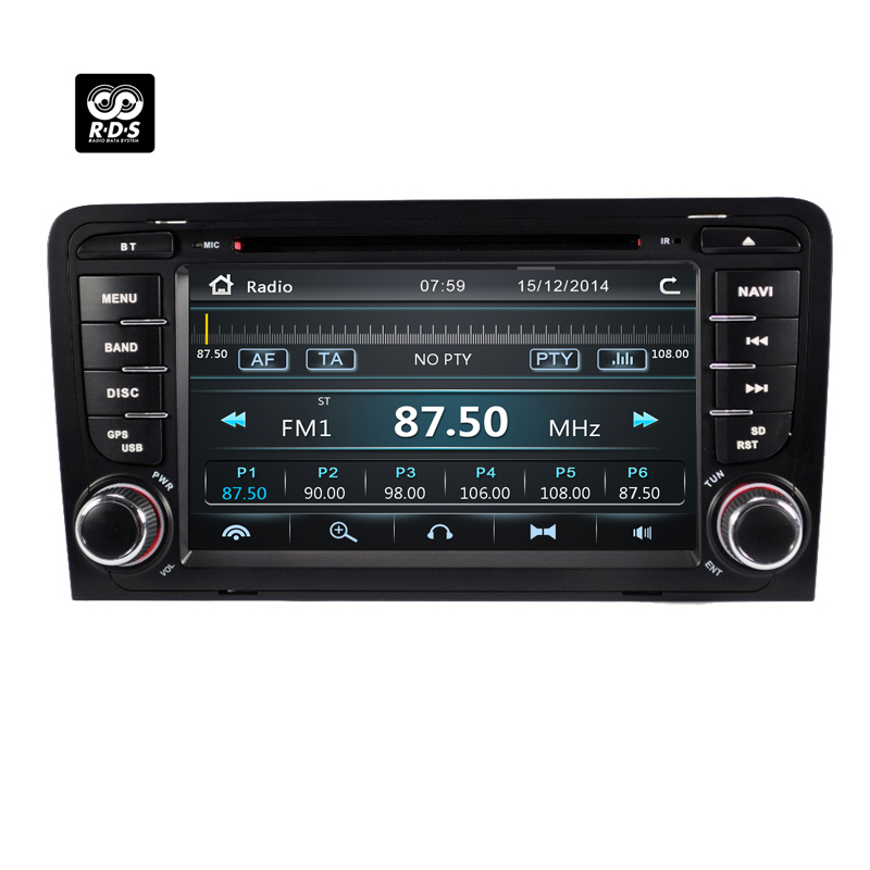 Navi Car radio For Audi A3 2002-2011 2din car multimedia dvd player GPS Navigation stereo For Audi 8P A3 8P1 S3 RS3 AutoradioNavi Car radio For Audi A3 2002-2011 2din car multimedia dvd player GPS Navigation stereo For Audi 8P A3 8P1 S3 RS3 Autoradio