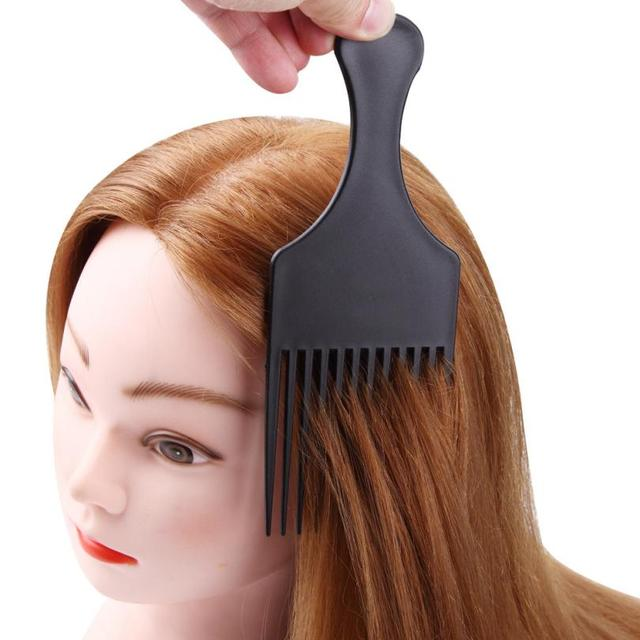 1PC Plastic hair colour comb Dye plate Professional Hairdressing ...