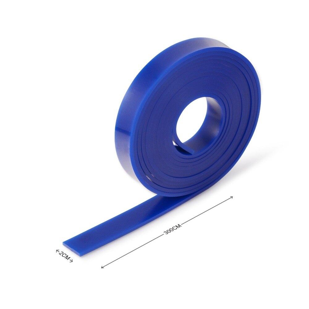 Exprimidor de goma para lavadora de coche EHDIS + limpiaparabrisas de 300 CM de vinilo para ventana de coche coche Herramientas de limpieza