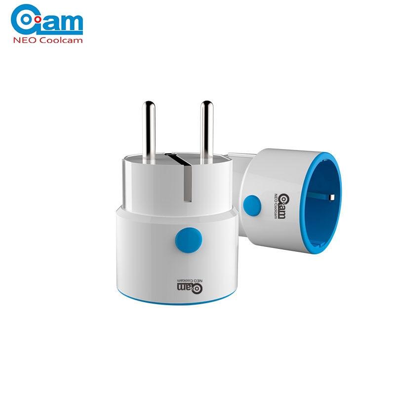 NEO COOLCAM NAS-WR01ZE Z Wave Plus Sensor Smart Home EU Power Plug Z-Wave Repeater Extender Outlet Plug