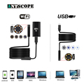 Antscope Wifi 8mm Endoscope 2/5/7/10M Waterproof Softwire Android 720P iOS Iphone Endoscopio7mmUSB Camera Inspection Endoscope19