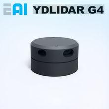 Eai ydlidar g4 lidar laser variando módulo sensor de posicionamento navegação caminho planejamento evitar obstáculos 16 metros