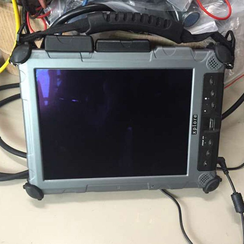 Xplore ix104 c5 4g i7 tablette robuste pc avec 80 gb ssd windows 10 voiture de diagnostic ordinateur portable tactile écran un an de garantie