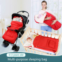 Warm Envelope for Newborn Baby Stroller Fleece Sleeping Bag Footmuff Sack Infant Pushchair