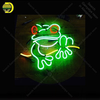 NEON SIGN For Sweet little tree frog Sign light lampara neon sign sale vintage neon light for Windower wall custom made decorate