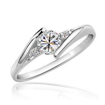2016 superventas de plata de ley 925 de lujo circón de cristal anillos femeninos al por mayor anillo de la joyería