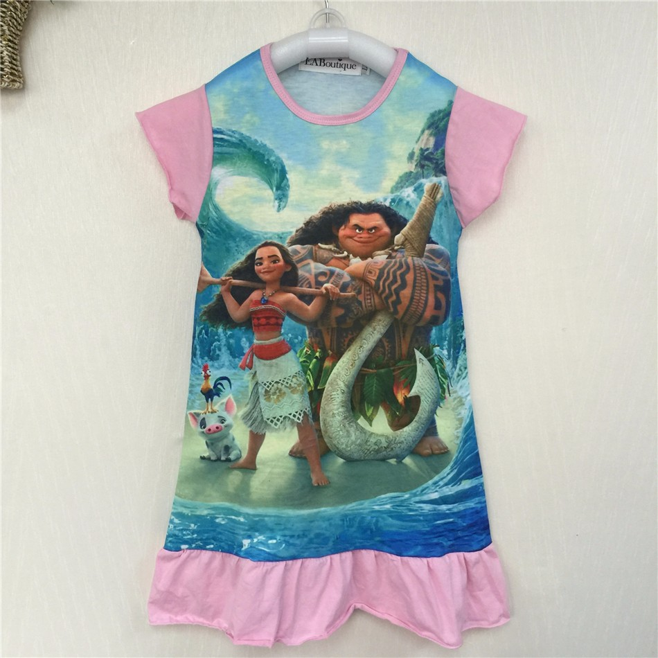 EABoutique-cotton-fabric-girls-dress-cartoon-princess-Moana-Trolls-double-printed-ruffles-style-kids-clothing-for-4-10-year-old-3