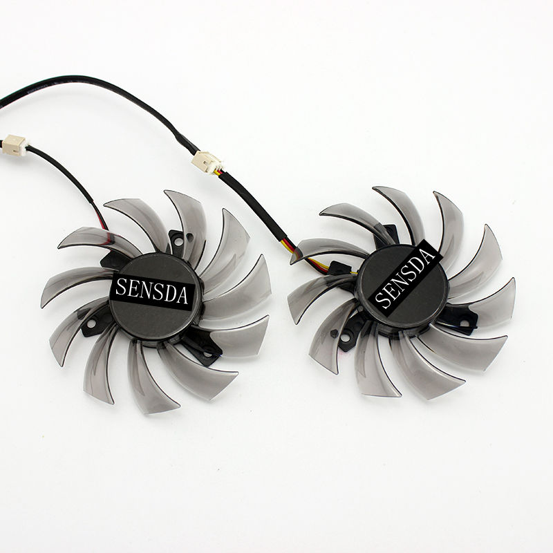 75mm 2 Pin Fan Nvidia GTX 460 Video Card Everflow T128010SM USA PLD08010S12H