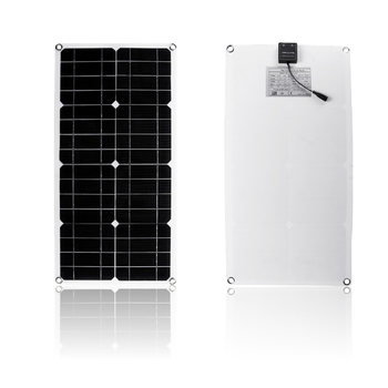 40W Polysilicon Silicon Solar Panel with Dual USB Port for Car Boat Yacht Battery Chargers WWO66