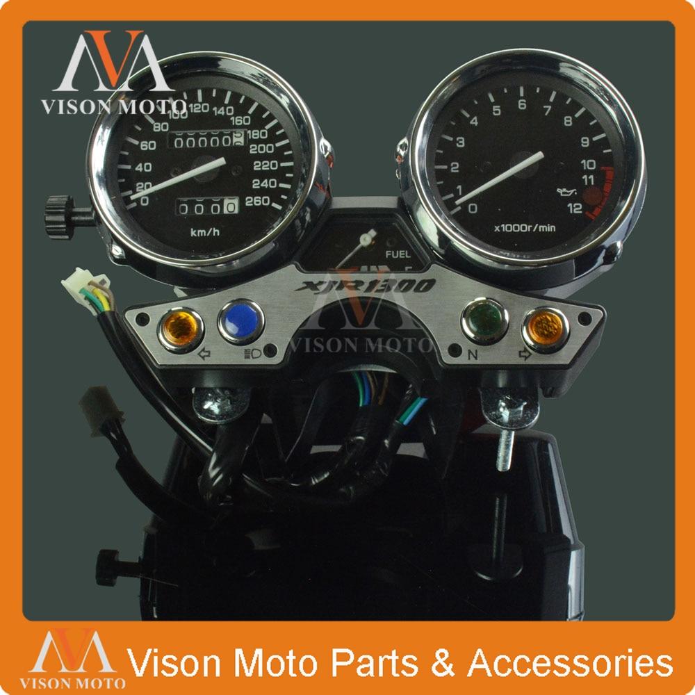 Motorcycle Speedometer Clock Instrument Gauges Odometer Tachometer  For YAMAHA XJR1300 1989 1990 1991 1992 1993 1994 1995 96 97