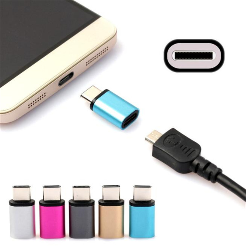 Micro USB Female to USB 3.1 Type-c Male Data Adapter for Oneplus Two 2 Jun12 Professional Factory Price Drop Shipping