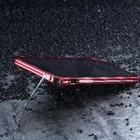 Original IMatch Bumper Case For IPhone X Luxury Diamond Shape Aluminum Metal Invisible Kickstand Bumper For