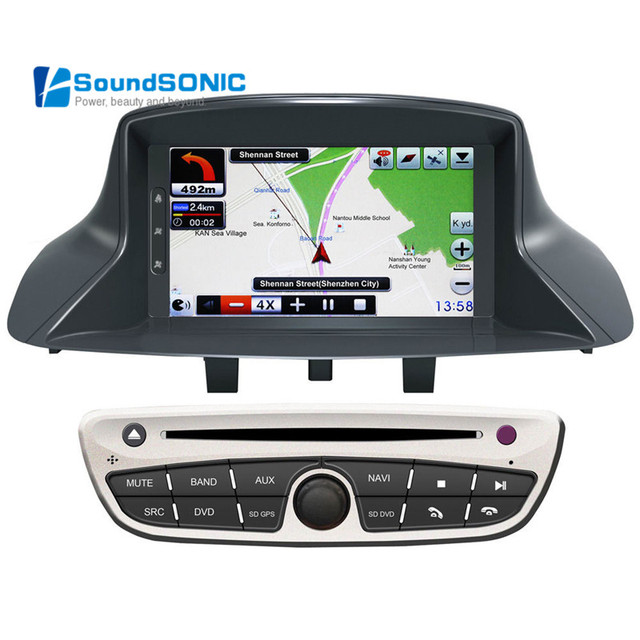 buy megane 3 fluence dvd gps for renault megane 3 fluence car navigation. Black Bedroom Furniture Sets. Home Design Ideas