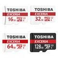 Toshiba exceria m302 u3 nova versão original 90 mb/s micro sd 16 gb/32 gb/64 gb/128 gb tf 90 m/s melhor escolha para 4 k de vídeo adaptador livre