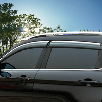 High Quality 4 Pcs Set SPORTAGE Wind Rain Sun Guards Visor Vent Awnings Shelters For Toyota