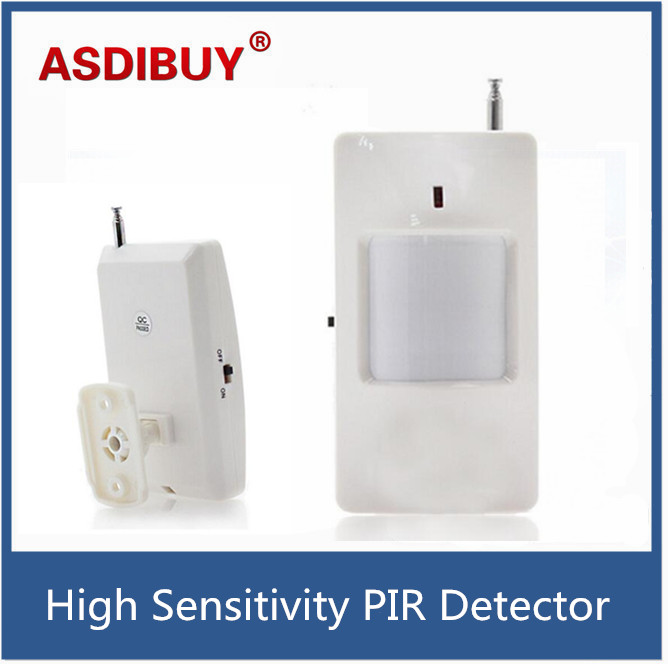 315/433Mhz Wireless PIR Sensor Motion Detector For Wireless GSM/PSTN Auto Dial Home Security Alarm System with battery big promotions pir infrared beam motion detector for home security gsm wifi pstn alarm system wired wireless beam sensor