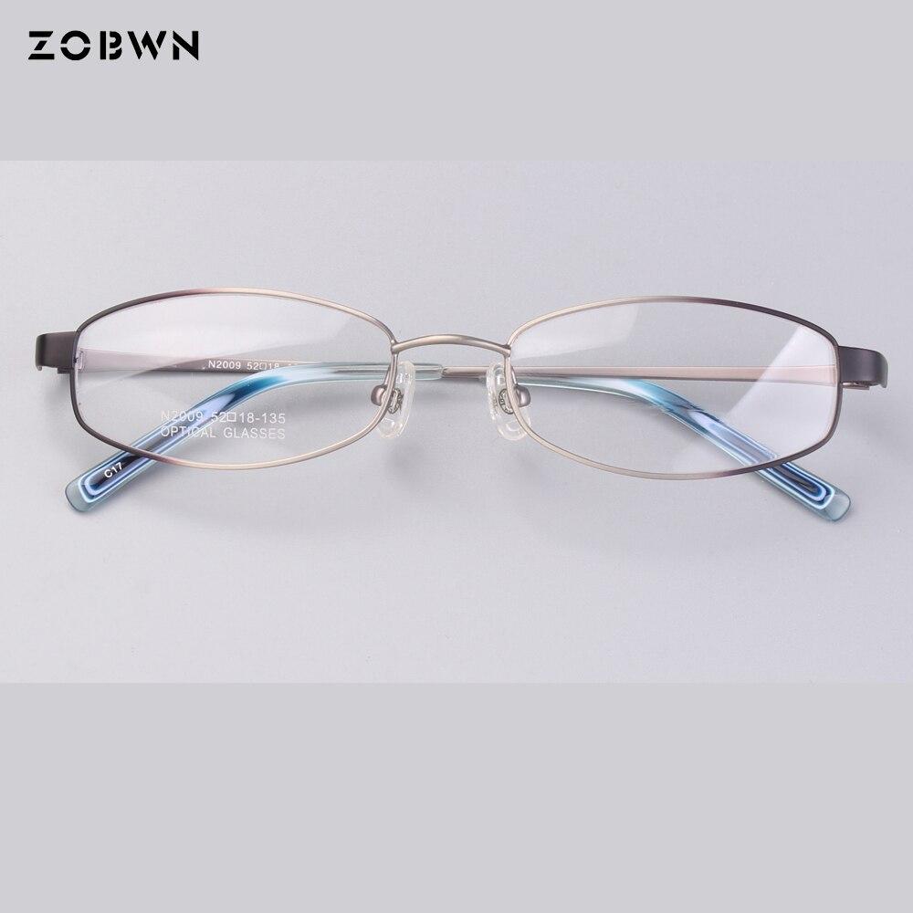 4225c60dbbd Classic Metal men spectacles simple frames retro for myopia reading lens  prescription computer optical glasses frame