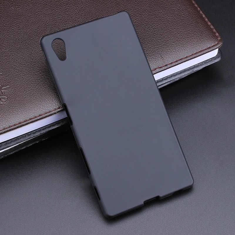 TPU miękkie etui silikonowa na tył etui na sony Xperia X Z Z1 Z2 Z3 + Z4 Z5 XZ2 XZ3 mini kompaktowy XA XA1 XA2 ultra L1 L2 XZ1 XZ M4 M5