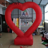2019 new trend inflatable Beautiful Romantic Wedding Decoration red love/heart Valentine's day decorations