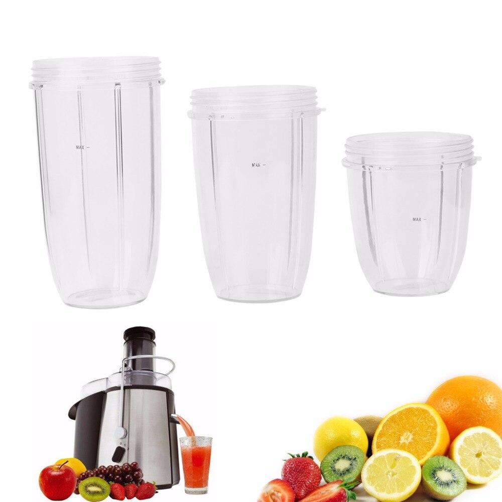 Juicer Cup Mug Clear Replacement For NutriBullet Nutri Bullet Juicer 18/24/32OZ цена