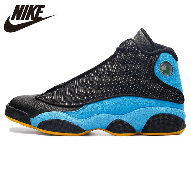 Nike Air Jordan XIII Hornets AJ13, chaussures de style de vie pour hommes chaussures de basket pour hommes baskets, 823902-015