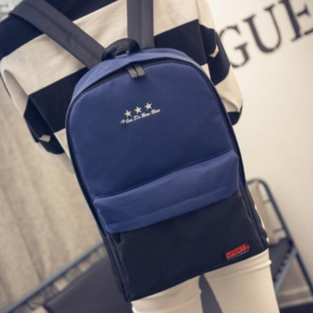 New arrival Girls Boys Canvas School Bag Travel Backpack Satchel Shoulder Rucksack Women mochila escolar sac a dos rugzak #3607