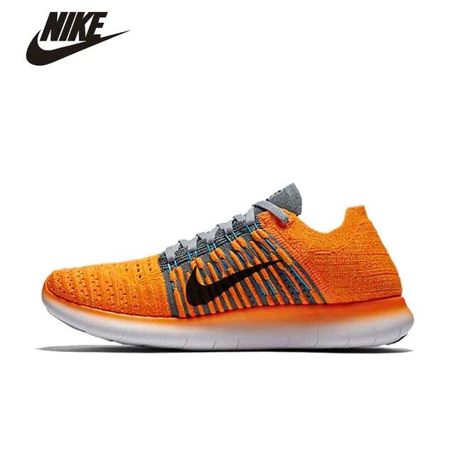 NIKE FREE Flyknit de Femmes Aux Pieds Nus Chaussures de Course Nike  #831070-800