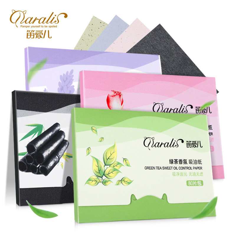 4 Pack/lot Daralis Facial Absorbent Paper Oil Control Sheets Deep Cleanser Black Head Remover Acne Treatment Beauty Products