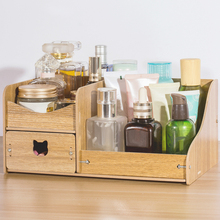Wood Organizer for Cosmetics Jewelry Drawer Cabinet Accessories