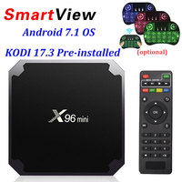 X96 Mini Android 7 1 Smart TV BOX 2GB 16GB 1GB 8GB Amlogic S905W Quad Core